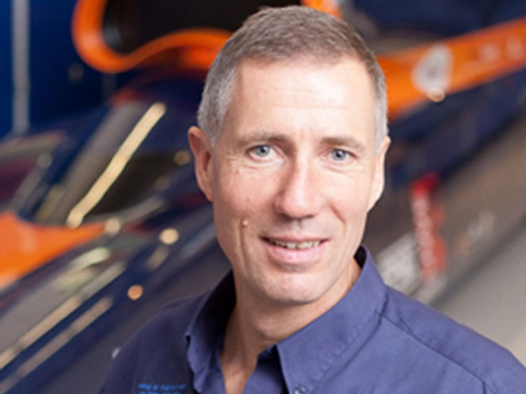 Wing Commander Andy Green